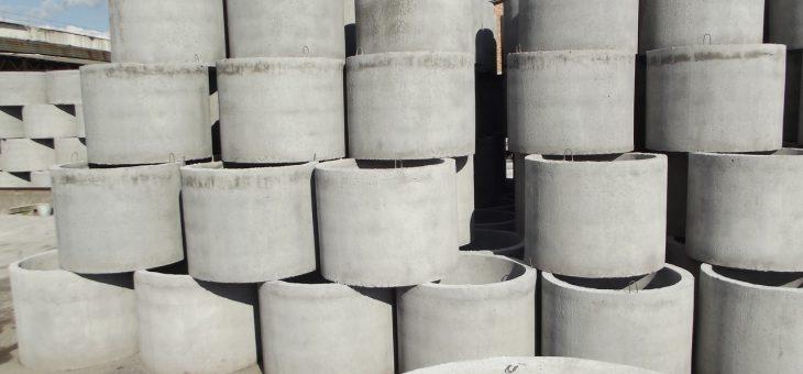 Бетонные кольца для канализационной системы